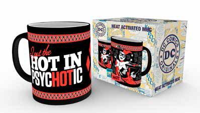 DC Comics Heat Change Mug Harley Quinn Psychotic