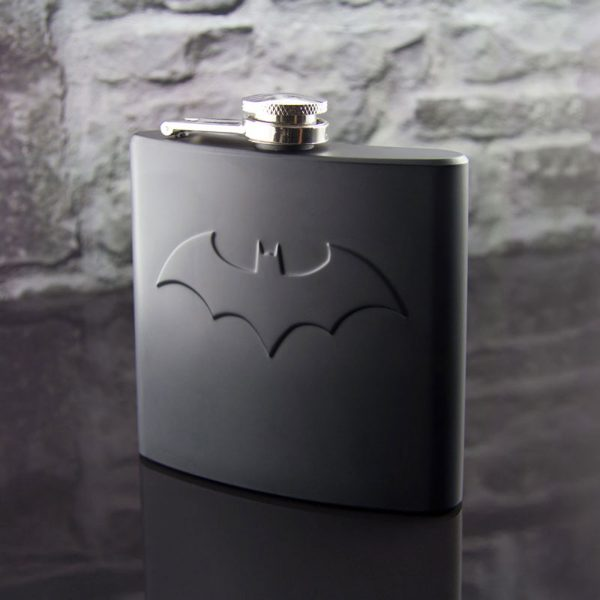 Batman Hip Flask Logo