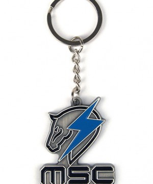 Metal Gear Rising Metal Keychain Maverick