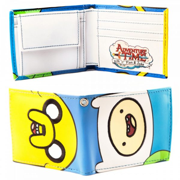 Adventure Time Wallet Faces