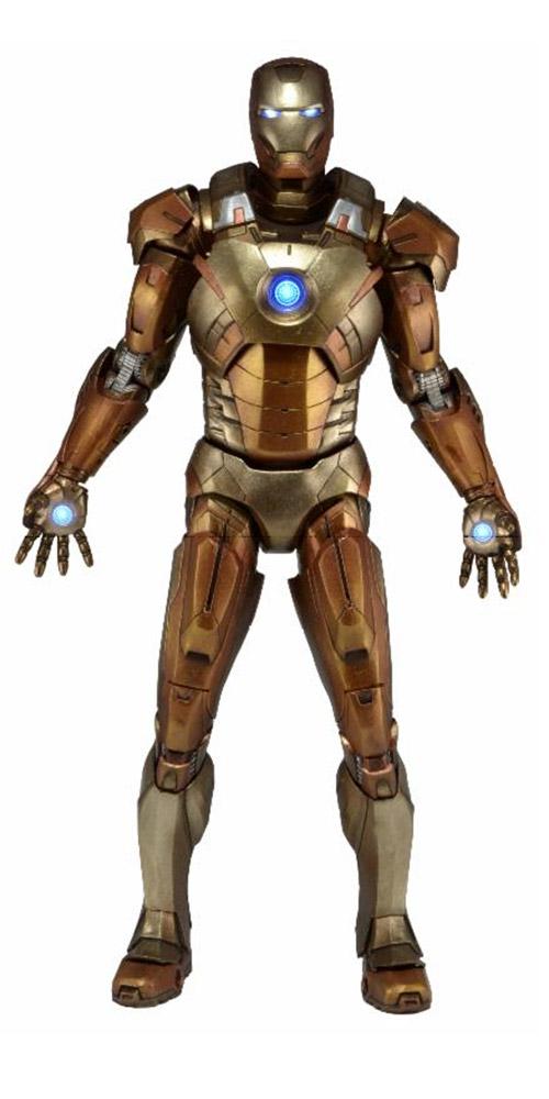The Avengers Actionfigur 1/4 Iron Man Mark XXI Midas Armor 46 cm