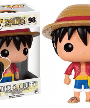 One Piece POP! Television Vinyl Figure Monkey D. Luffy 9 cm