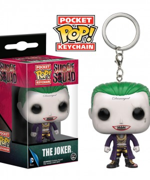 Suicide Squad Pocket POP! Vinyl Keychain The Joker 4 cm