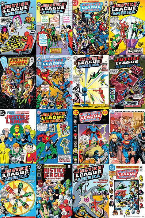 DC Comics Poster Pack Justice League Cover 61 x 91 cm