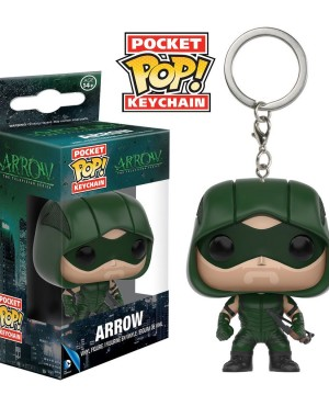 DC Comics Pocket POP! Vinyl Keychain Arrow 4 cm