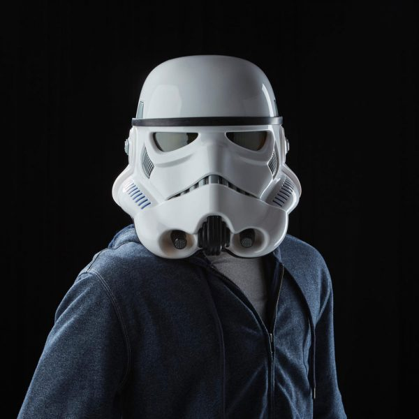 Star Wars Rogue One Black Series Electronic Voice Changer Helmet Imperial Stormtrooper