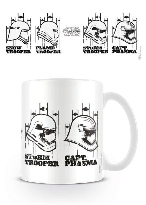 Star Wars Episode VII Mug Helmets