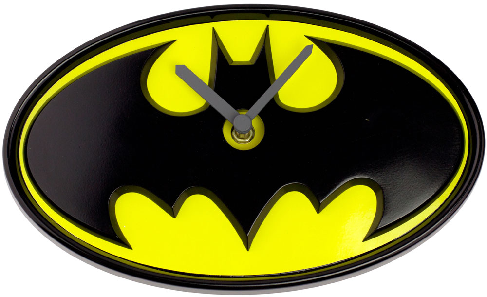 Batman Wobble Wall Clock Swinging Logo 3cb4f40c1a