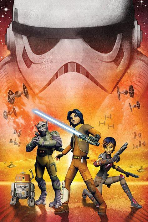 Star Wars Rebels Poster Pack Empire 61 x 91 cmStar Wars Rebels Poster Pack Empire 61 x 91 cm