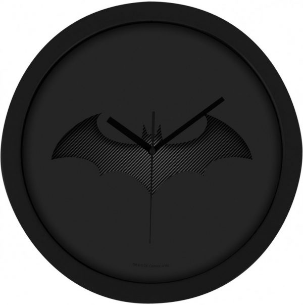 Batman Wall Clock Black Batarang