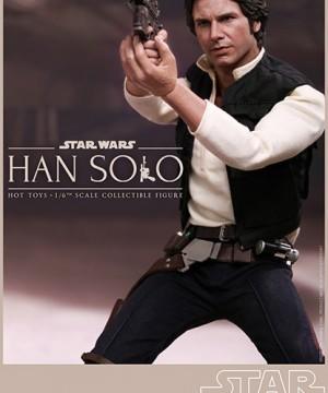 Hot Toys Star Wars - Han Solo Episode VI 30 cm