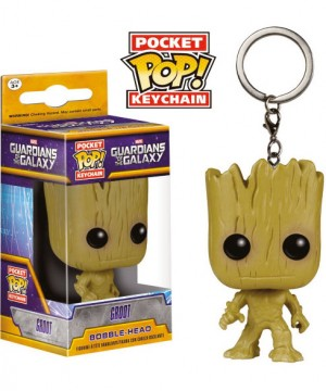 Marvel Guardians Of The Galaxy Funko Pocket POP! kulcstartó - Groot