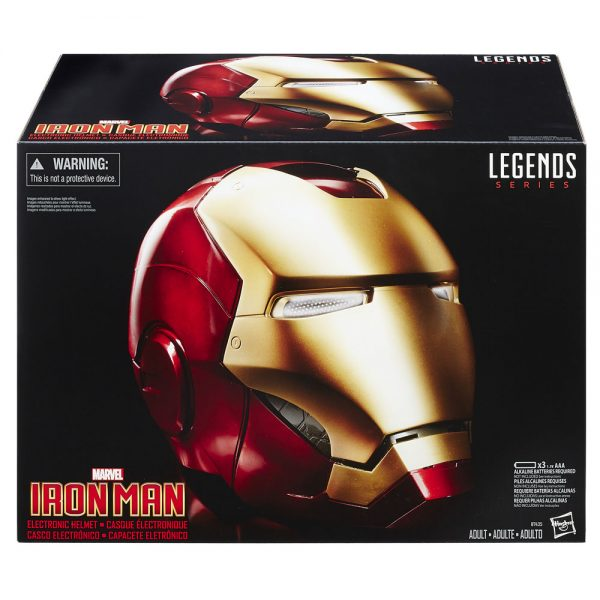 Marvel Legends - Elektromos Ironman Maszk