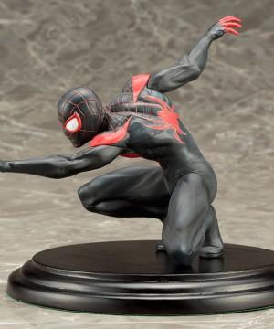 Marvel Now! - ARTFX+ PVC Szobor 1/10 Spider-Man (Miles Morales) 11 cm