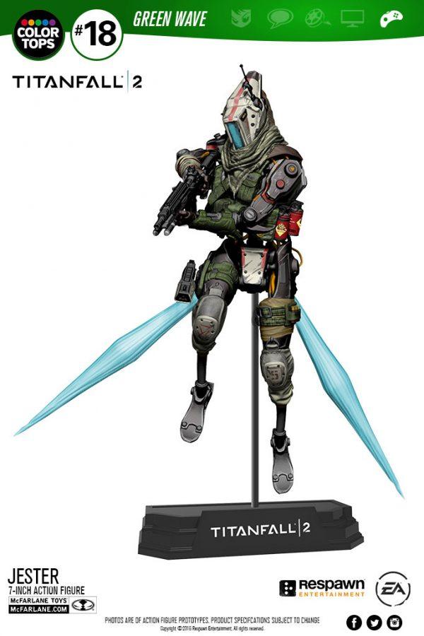 Titanfall 2 - Jester Color Tops Akció figura