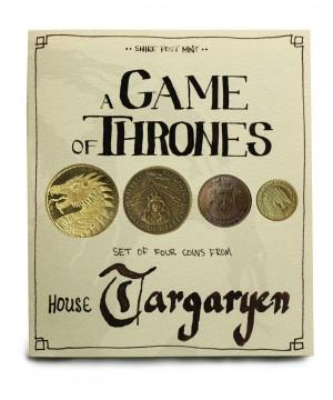 Game of Thrones - House Targaryen érme kollekció (replika)
