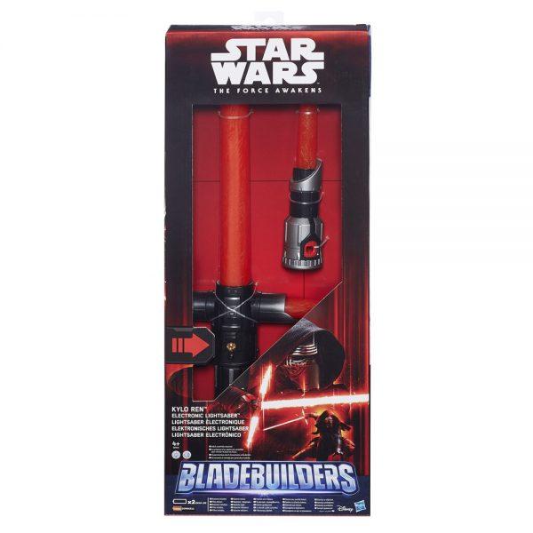 Star Wars Episode VII Electronic Lightsaber BladeBuilders 2015 Kylo Ren