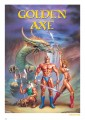 Golden Axe Art Print Golden Axe 42 x 30 cm