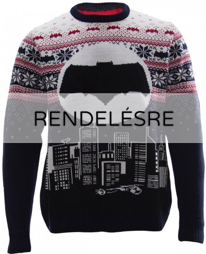 8513a9469 DC Comics karácsonyi kötött pulóver - Batman