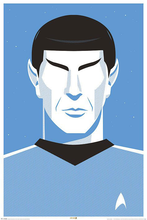 Star Trek 50th Anniversary Poster Pack Pop Spock 61 x 91 cm