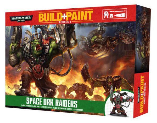 Warhammer 40k Modell Szett - Space Ork Raiders