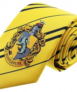 Harry Potter - Hugrabug címeres nyakkendő