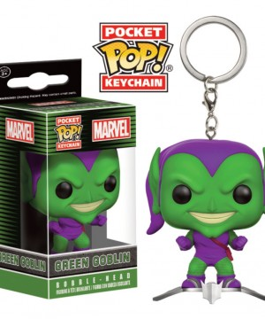 Marvel Comics Pocket POP! Vinyl Keychain Green Goblin 4 cm