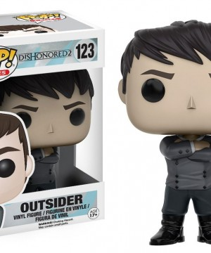 Dishonored 2 POP! Games Vinyl Figure Outsider 9 cm