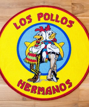 Breaking Bad Rug Los Pollos Hermanos 90 x 90 cm
