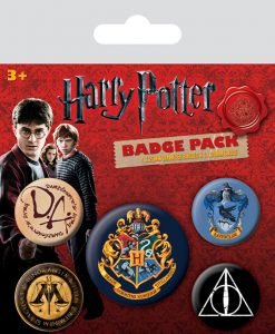 Harry Potter Pin Badges 5-Pack Hogwarts