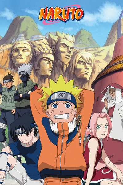 Naruto - Hokage poszter