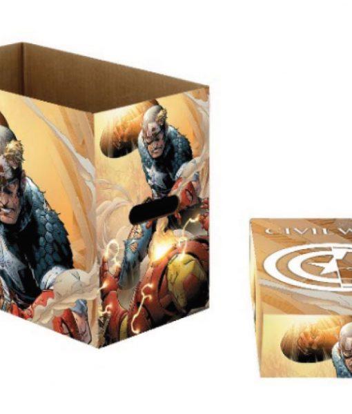 DC Comics - Captain America képregény tároló doboz