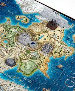 Game of Thrones 3D Puzzle Mini Westeros (340 darabos)