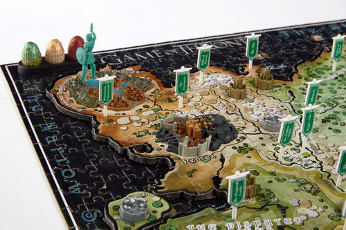 Game of Thrones 3D Puzzle Mini Westeros