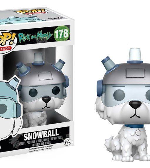 Rick and Morty Funko POP! Figura - Snowball