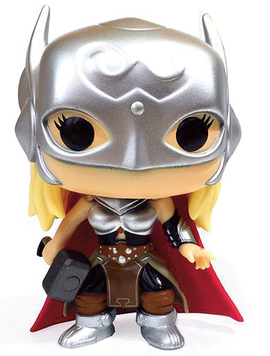 Marvel Comics POP! Marvel Vinyl Figure Lady Thor Secret Wars Limited 9 cm