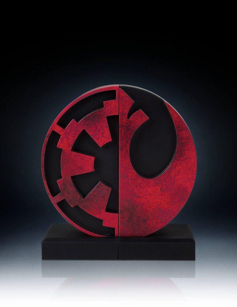 Star Wars - Imperial Rebel logo könyvtámasz  9640dbeb6a