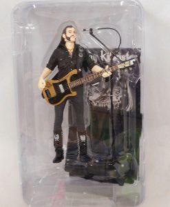 Motörhead Lemmy Kilmister Black Pick Guitar figura