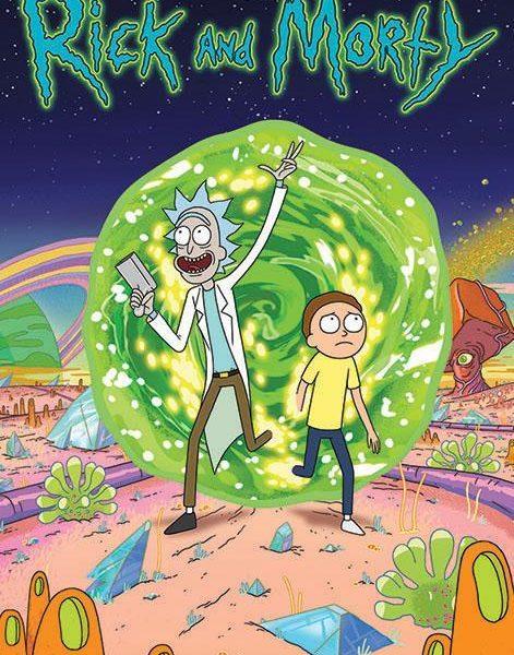 Rick & Morty - Portal poszter PP34064