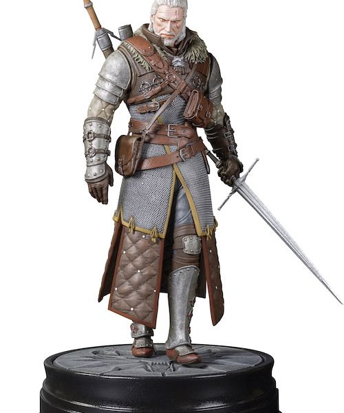Witcher 3 - Geralt Grandmaster Ursine PVC Szobor