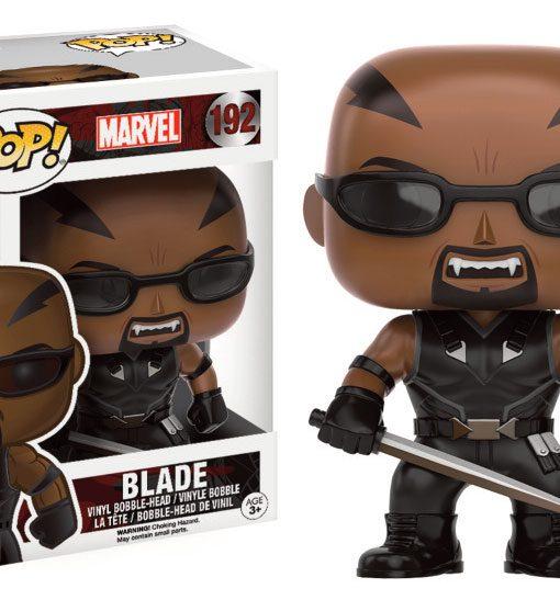 Marvel Comics POP! Marvel Vinyl Bobble-Head Blade 9 cm