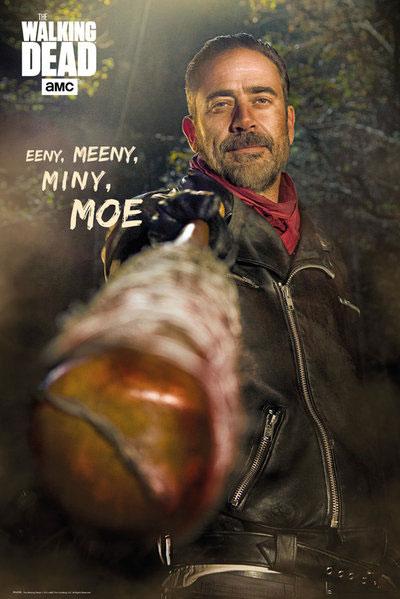 Walking Dead Poster Pack Negan Eeny Meeny Miny Moe