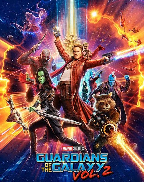 x_pp34140 Guardians of the Galaxy Vol. 2 Poster Pack One Sheet 61 x 91 cm