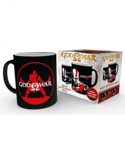 d_gye-mgh0035 God of War Heat Change Mug Kratos