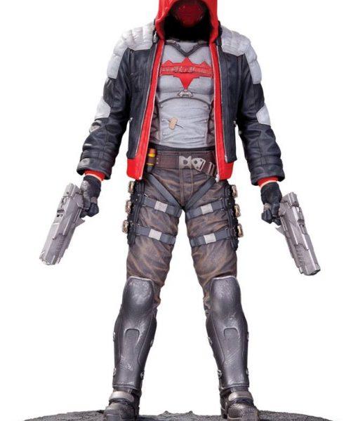 x_dccmay150284 Batman Arkham Knight Statue Red Hood 27 cm