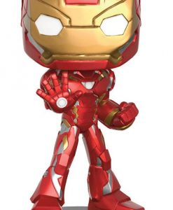 x_fk12479 Captain America Civil War Wacky Wobbler Bobble-Head Iron Man 16 cm