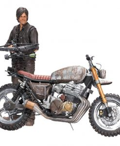 x_mcf14516-8 The Walking Dead Deluxe Action Figure Daryl Dixon with Chopper Season 5/6 13 cm