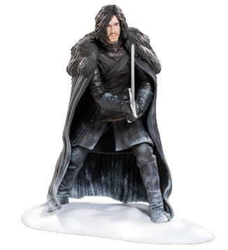 xdaho20-492 Game of Thrones PVC Statue Jon Snow 19 cm