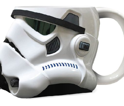xjoy21296 Star Wars 3D Ceramic Mug Stormtrooper