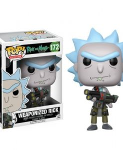 FK12439-2 Rick and Morty POP! Animation Figures Weaponized Rick 9 cm